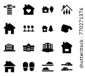 origami style icon set  ... | Shutterstock .eps vector #770271376
