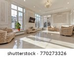 living room with a beautiful... | Shutterstock . vector #770273326