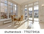 living room with a beautiful... | Shutterstock . vector #770273416