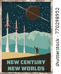 new century   new worlds.... | Shutterstock .eps vector #770298952