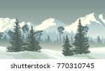 horizontal vector illustration... | Shutterstock .eps vector #770310745