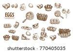 digital vector detailed line... | Shutterstock .eps vector #770405035
