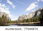 yosemite national park california - stock photo