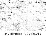 grunge black and white pattern. ... | Shutterstock . vector #770436058