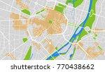modern map city | Shutterstock .eps vector #770438662