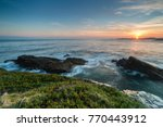 summer sunrise on the beach of... | Shutterstock . vector #770443912