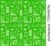 seamless pattern background... | Shutterstock .eps vector #770448796