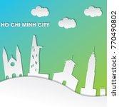 ho chi minh city vector design | Shutterstock .eps vector #770490802