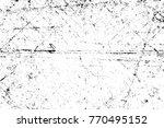 grunge black and white pattern. ...   Shutterstock . vector #770495152