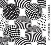 vector seamless abstract... | Shutterstock .eps vector #770512066