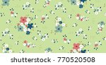 seamless floral pattern in... | Shutterstock .eps vector #770520508