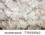 Background Of White Merino Wool