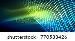 hi tech futuristic techno... | Shutterstock .eps vector #770533426