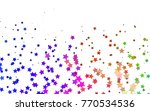 light multicolor  rainbow... | Shutterstock .eps vector #770534536