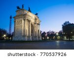 Arch Of Peace  Arco Della Pace...