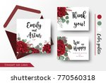 wedding invite  invitation ... | Shutterstock .eps vector #770560318