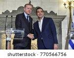 athens  greece   december 7 ... | Shutterstock . vector #770566756