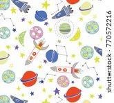 space vector illustration... | Shutterstock .eps vector #770572216