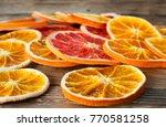 Dry Oranges And Grapefruits...