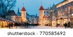 tallinn  estonia. famous... | Shutterstock . vector #770585692