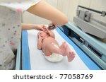 Newborn Infant Baby On...