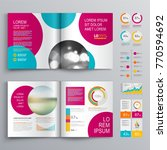 business brochure template... | Shutterstock .eps vector #770594692