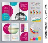 business brochure template... | Shutterstock .eps vector #770594695