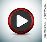 play button sign illustration   Shutterstock .eps vector #770599786