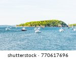 bar harbor  usa   june 8  2017  ... | Shutterstock . vector #770617696