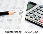 accounting | Shutterstock . vector #77064352