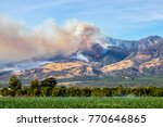 Thomas Fire Above City Of...