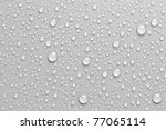 water drops an white background | Shutterstock . vector #77065114