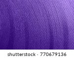 ultra violet shining stroke... | Shutterstock . vector #770679136
