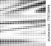 grunge halftone black and white ... | Shutterstock . vector #770718496
