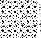 stars pattern vector | Shutterstock .eps vector #770735176