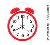 alarm clock vector | Shutterstock .eps vector #770738896