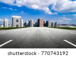 modern buildings in nantong   Shutterstock . vector #770743192