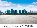 the beautiful cityscape | Shutterstock . vector #770743882
