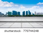 the beautiful cityscape | Shutterstock . vector #770744248