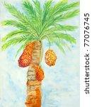 Original Painting Of Orange...