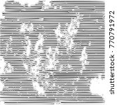 grunge dust messy background.... | Shutterstock .eps vector #770791972