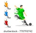 vector illustration of soccer...   Shutterstock .eps vector #770793742