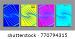 creative colored cover design | Shutterstock .eps vector #770794315