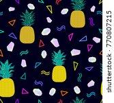 dark carnival background.... | Shutterstock .eps vector #770807215