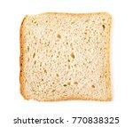 integral whole wheat toast... | Shutterstock . vector #770838325