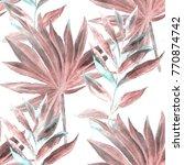 watercolor seamless pattern... | Shutterstock . vector #770874742