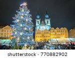 Prague Christmas Tree And...