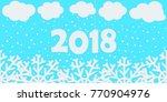 happy new year background.... | Shutterstock .eps vector #770904976