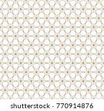 vector seamless pattern. modern ... | Shutterstock .eps vector #770914876