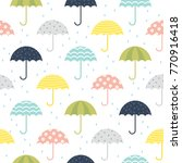 Cute Umbrella Pattern